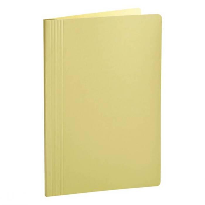 Pasta Classificadora Clean Cartolina Amarelo C/ Grampo Plastic. 0204A Dello