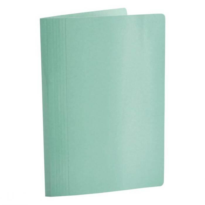 Pasta Classificadora Clean Cartolina Verde C/ Grampo Plastic. 0204T Dello