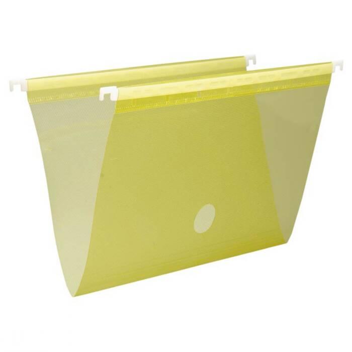 Pasta Suspensa Plast Amarelo em PP Completa 0005A Dello