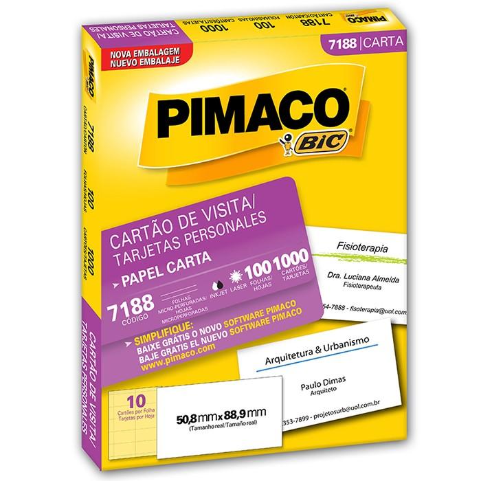 Personal Card Pimaco 7188