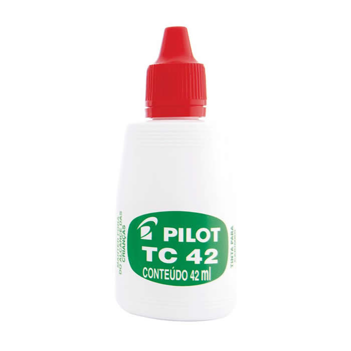 Tinta Vermelho P/ Carimbo 42ml 1060005CX012 Pilot