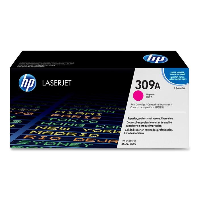 Toner HP 309A Q2673A Magenta