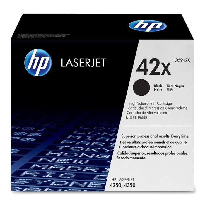 Toner HP 42X Q5942X Preto