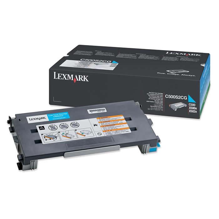 Toner Lexmark C500S2CG Ciano