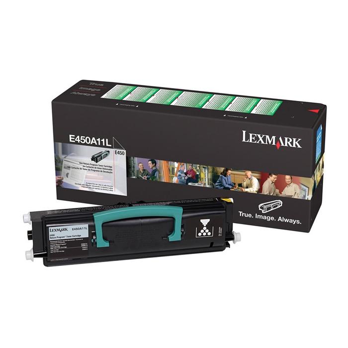 Toner Lexmark E450A11L Preto