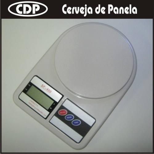 Balança Digital - 10Kg  - CERVEJA DE PANELA