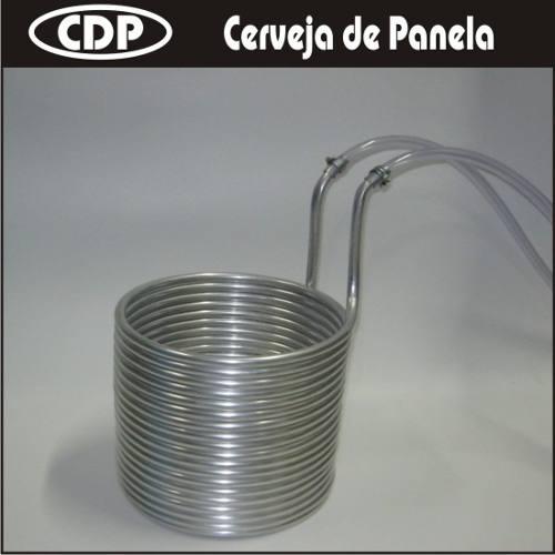 Resfriador De Imersão 1/2´ (7,5 m) - Alumínio  - CERVEJA DE PANELA