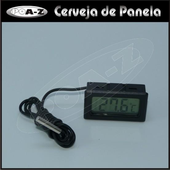 Termômetro Digital com Sonda  - CERVEJA DE PANELA