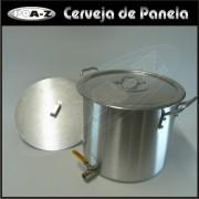 Caldeir�o 22 litros com V�lvula e Fundo Falso