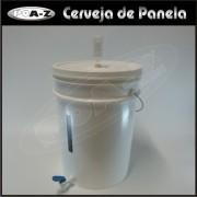 Balde Fermentador Completo - 22 litros - Kit 2 unidades