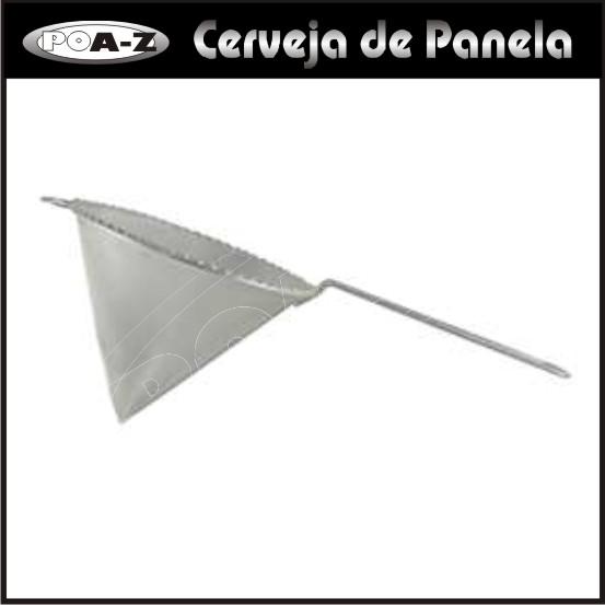 Peneira Cônica com tela Inox - Tipo Chinoy  - CERVEJA DE PANELA