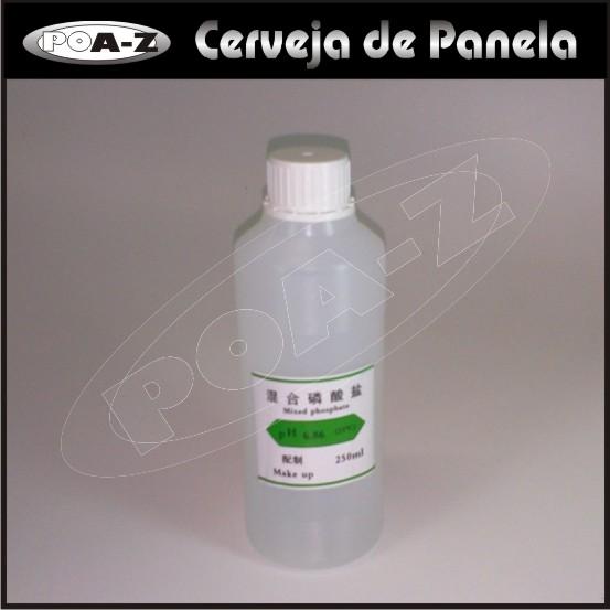 Solução  para Calibração - Padrão pH: 6,86 - 250 ml  - CERVEJA DE PANELA