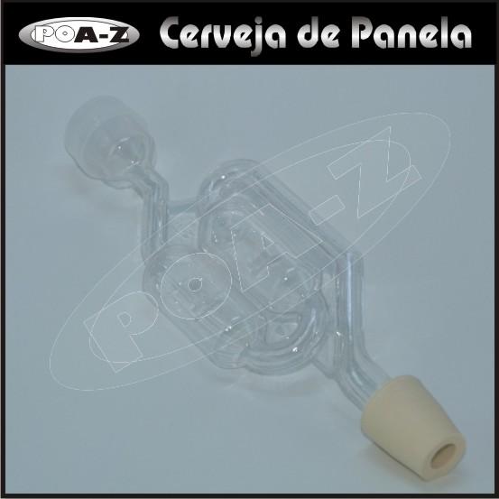 Airlock Tipo S c/ Adaptador 2  - CERVEJA DE PANELA