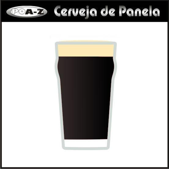 Kit de Insumos Cerveja de Panela - Stout   - CERVEJA DE PANELA