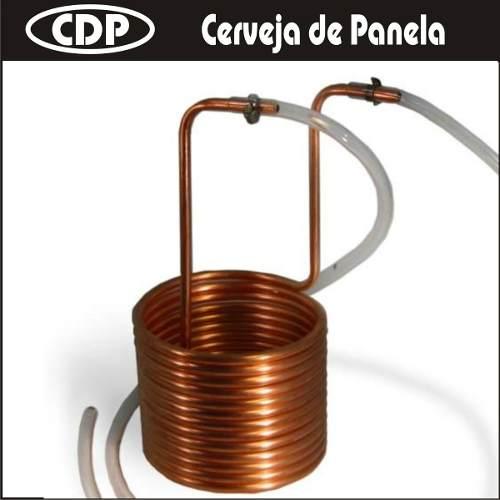 Resfriador De Imersão 3/8 (7,5 m) - Cobre  - CERVEJA DE PANELA