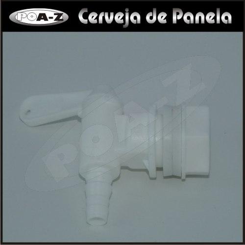 Torneira para Fermentador - Desmontável  - CERVEJA DE PANELA