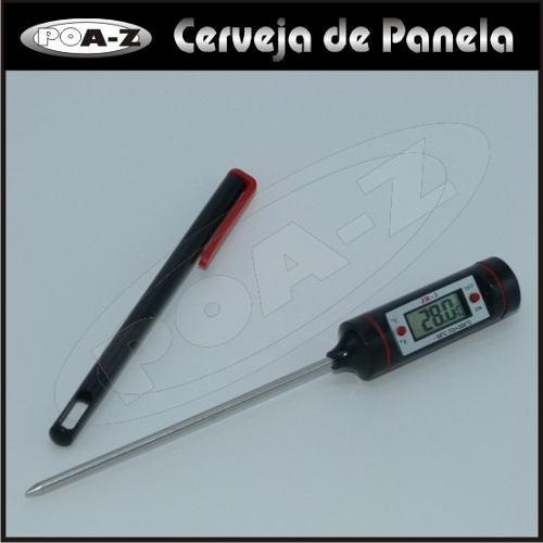 Termômetro Digital Espeto  - CERVEJA DE PANELA