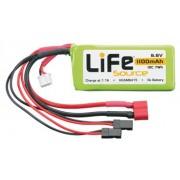Bateria LiFeSource LiFe 6.6V 1100mAh 10C Rx