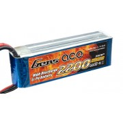 Bateria Lipo Gens Ace 2200mAh 3s 11.1V 25C c/ Xt60