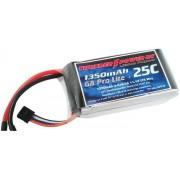 Bateria LiPo Thunder Power 3s 1350mAh G8 Pro Lite Plus 25C
