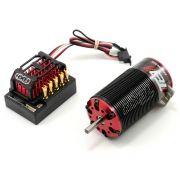 Combo ESC e Motor Tekin RX8 / T8 1900Kv Redline Auto 1/8