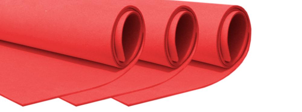 Colchonete Eva 110 X 60 Cm X Esp 4mm Vermelho