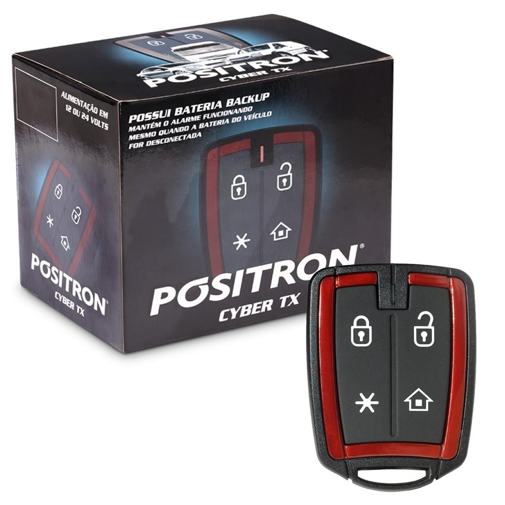Alarme Positron Cyber Tx-290 Para Caminhão 12v E 24v