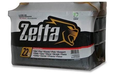 Bateria 60ah Zetta - Fabricação Moura Lado  D