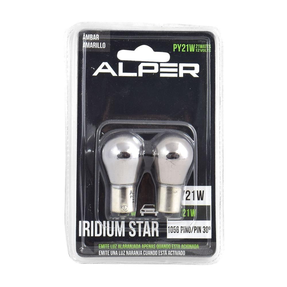 Lâmpada Pisca Py21w Iridium Star - Alper  Par