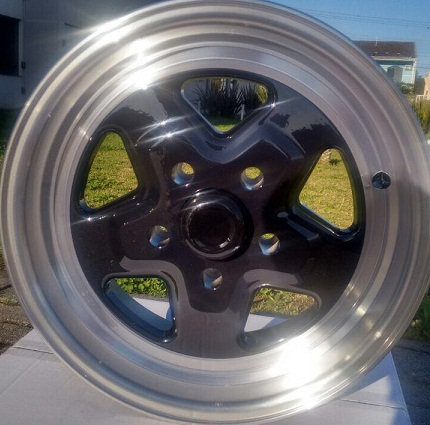 Roda Pro Star C9 KR aro 15x7 ou 15x4 5X114 ET-10/+30 Jogo