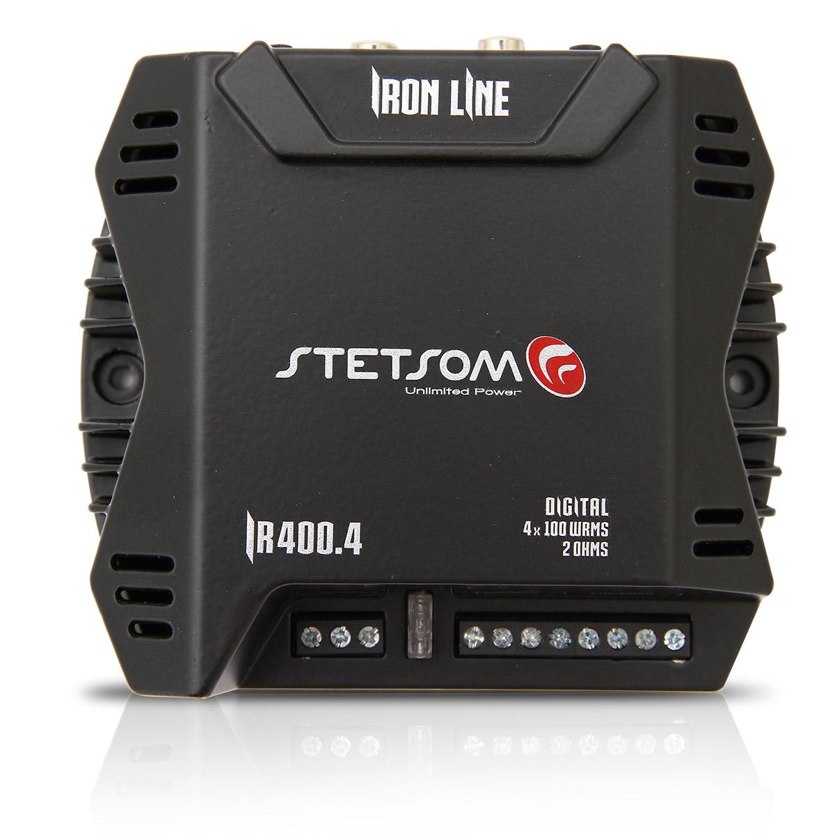 Modulo Amplificador Stetsom IR-400.4 - 4 Canais 400w
