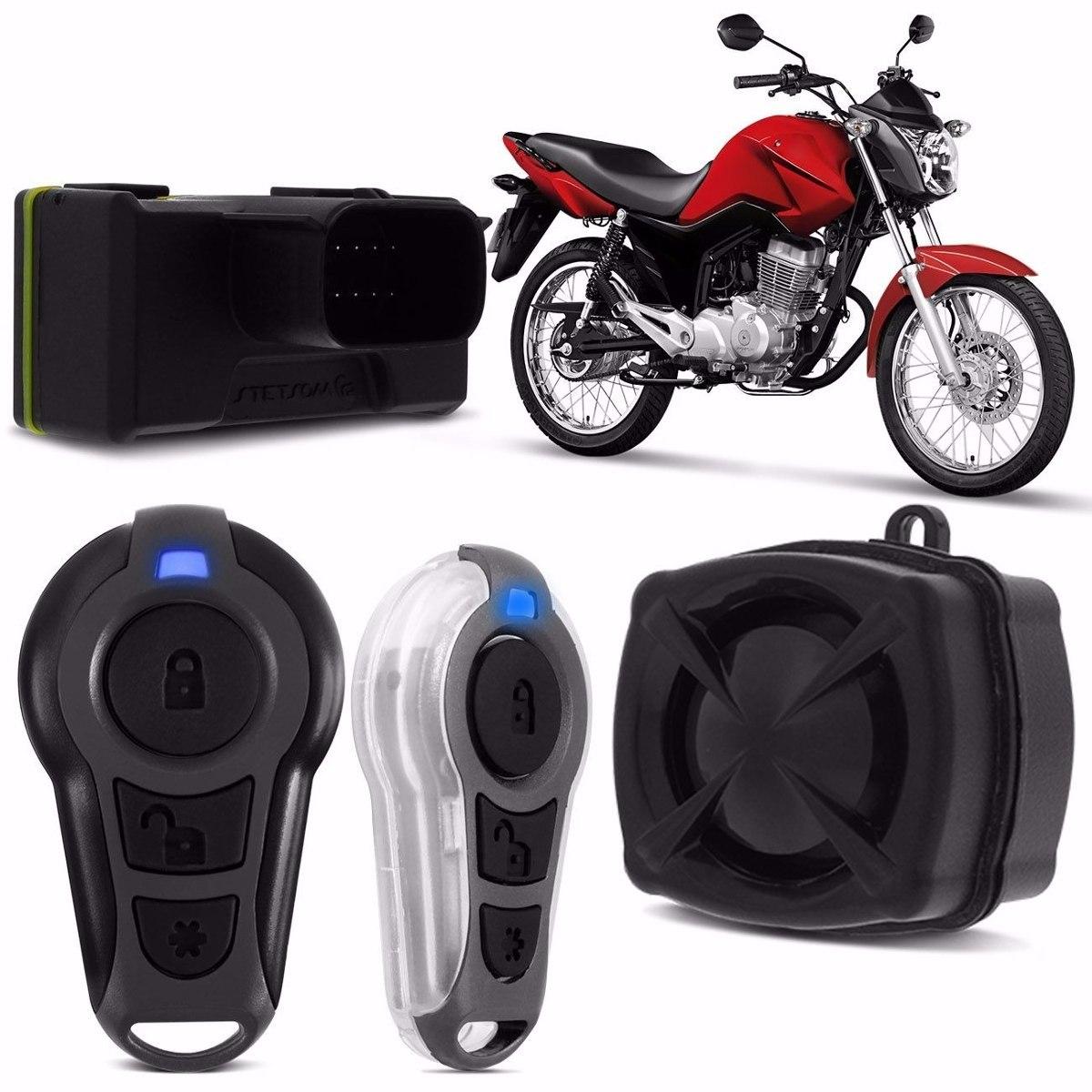 Alarme Para Moto Com Controle Presença - Stetsom