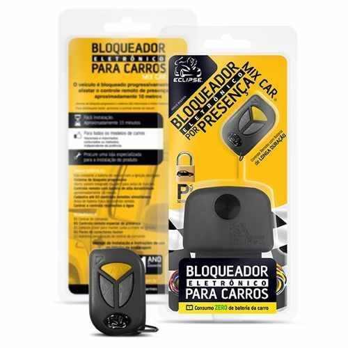 Alarme Bloqueador P/ Carro Antifurto Com Controle Presença Mix Car Eclipse
