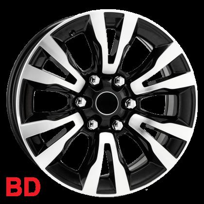 Roda S10 2017 R79 KR aro 18X7 6X139 Pick-up et35  Jogo