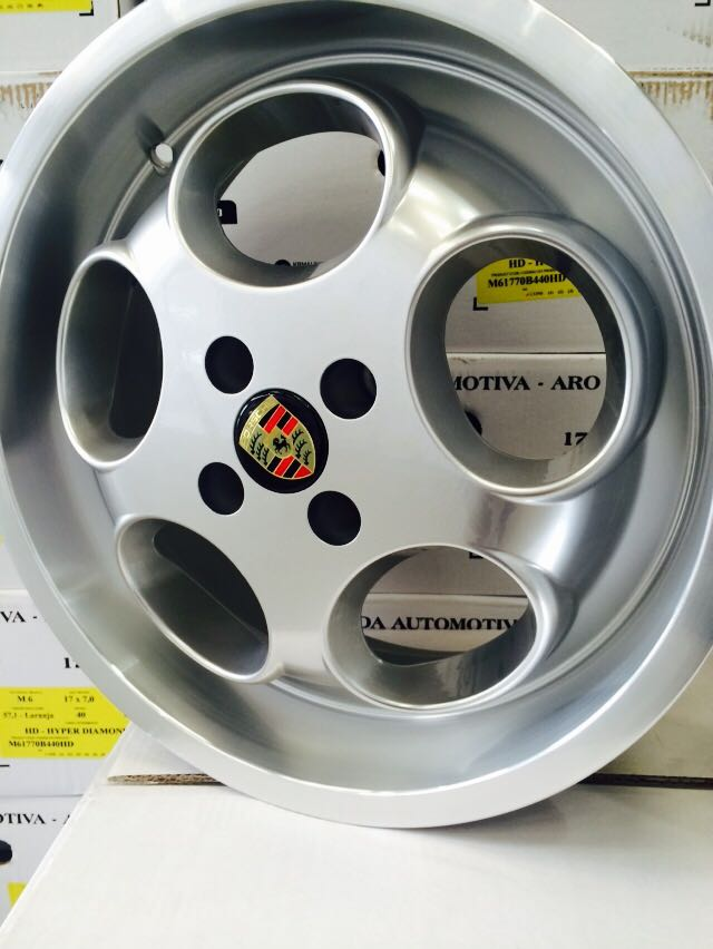 Roda Porsche Le Mans M6 aro 17x7 KR 4X100 5X100/112 ET 40  jogo