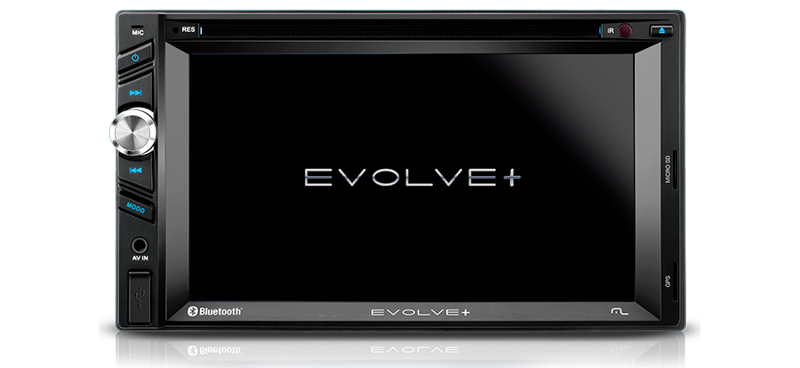 Central Multimidia Evolve Gps Tv Blue. Espelhamento Gp043