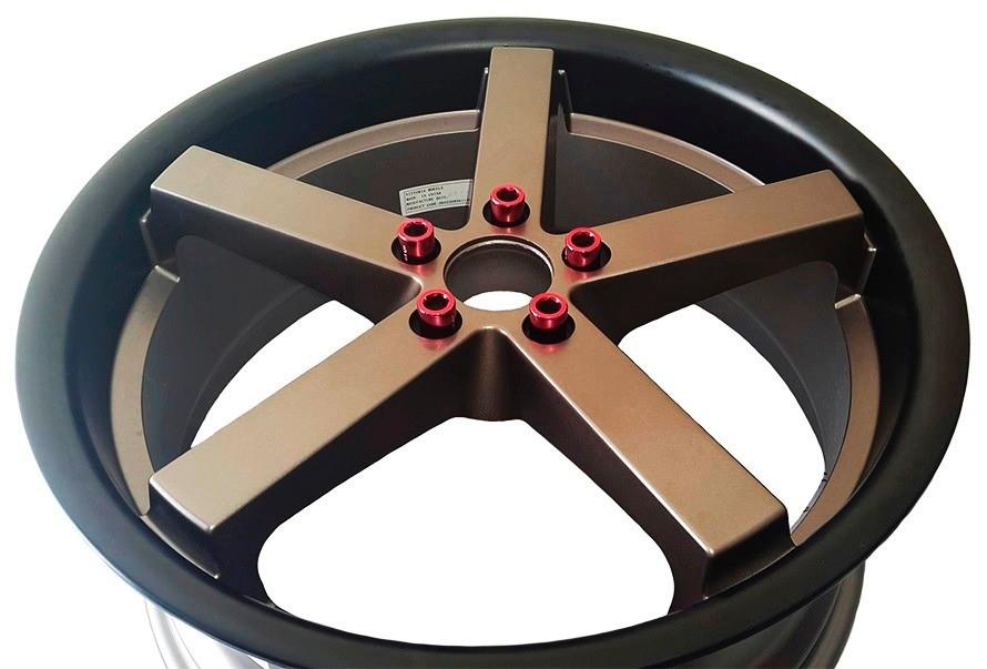 Parafuso roda Colorido  Lob  Allen Longo  Multi