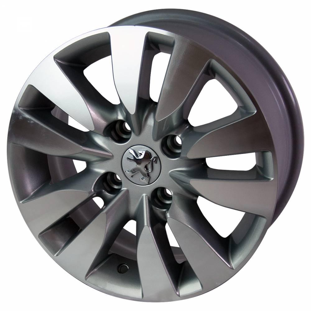 Roda Peugeot R12 KR ARO 17X7 4X108 ET 25 JOGO
