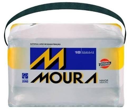 Bateria Autom Moura Inteligente 60 Amperes Com 18 Meses De Garantia