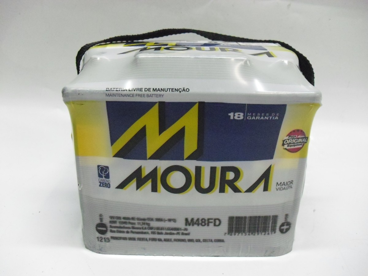 Bateria Moura 48 Amperes 18  FD/FE