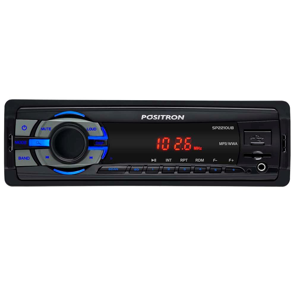 Radio  Positron Usb Sd Mp3 Fm Sp2210ub Rca P2