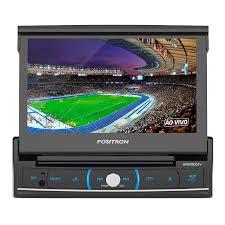 DVD Player Automotivo Pósitron SP6720 DTV com Tela Touch Screen de 7