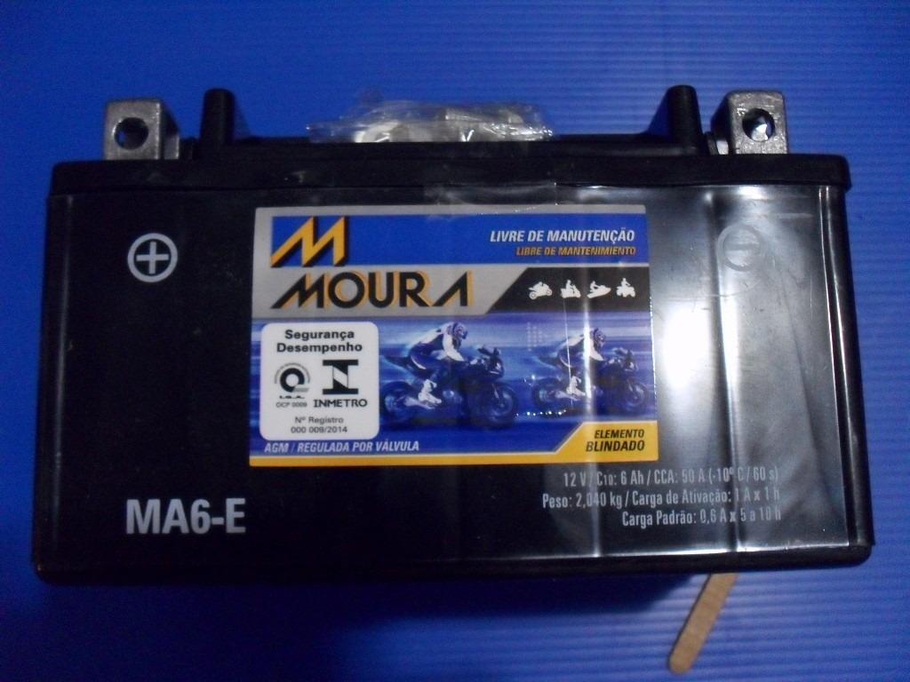 Bateria Moto Suzuki Burgman Moura MA6-E