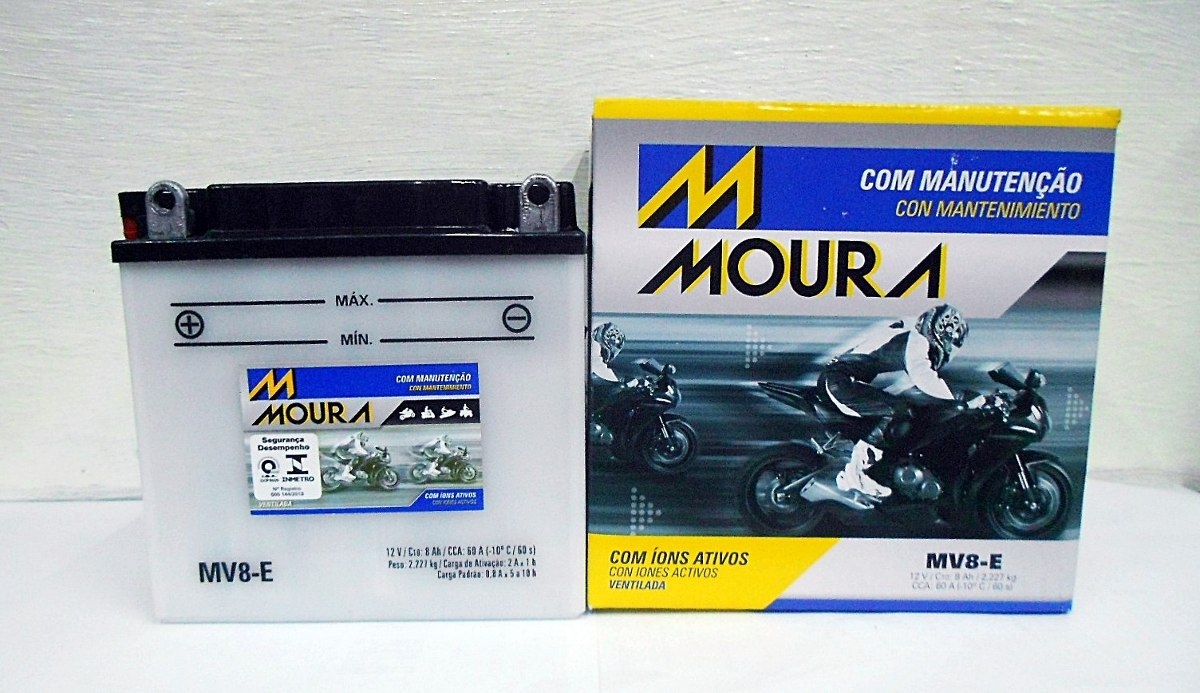 Bateria Moto Moura Mv8-ei Suzuki Katana Suzuki Yes *