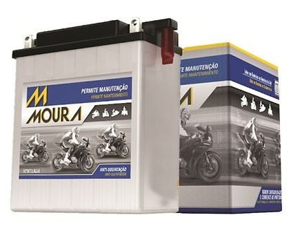 Bateria Moto Moura Mv19-d Atv Quadriciclo Kaw. Can-am Deere