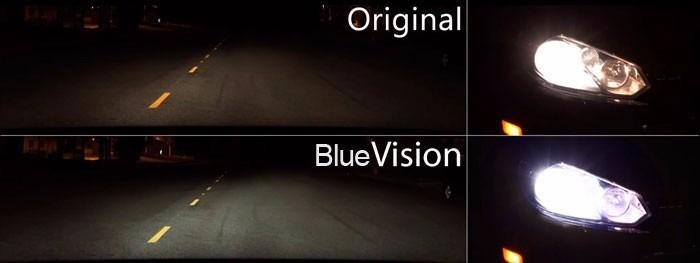 Lampada Farol Philips Blue Vision Hb4 55w 4000k