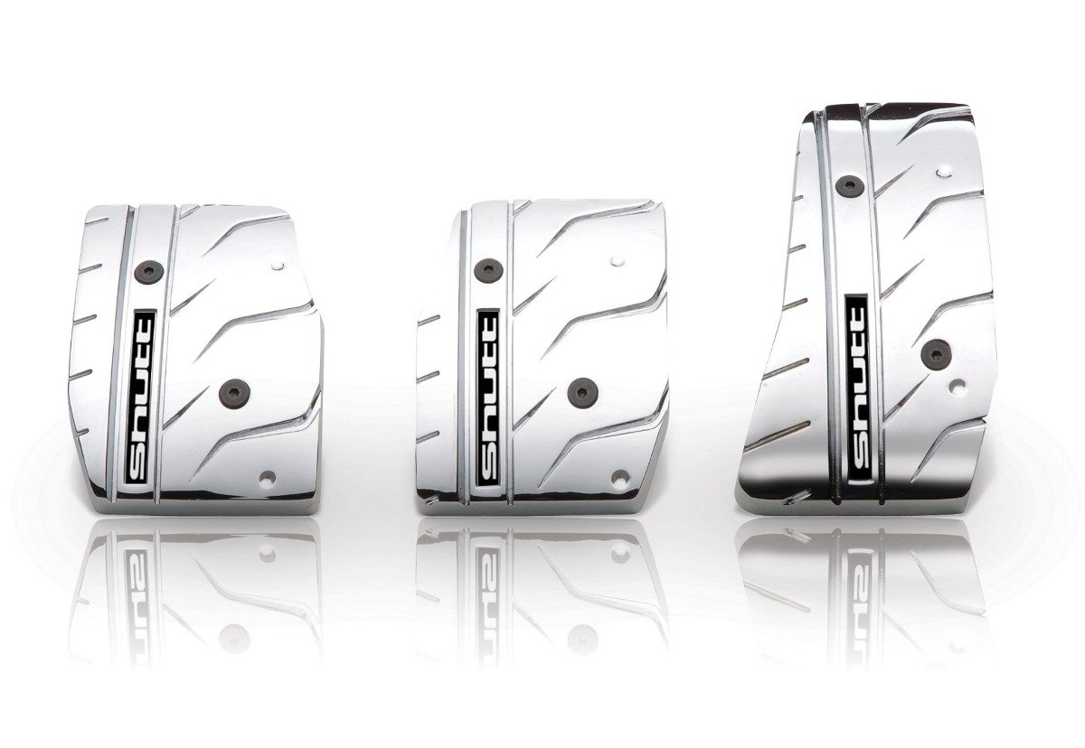 Pedalera Esportiva Shutt Em Aluminio Cromado - Pxr