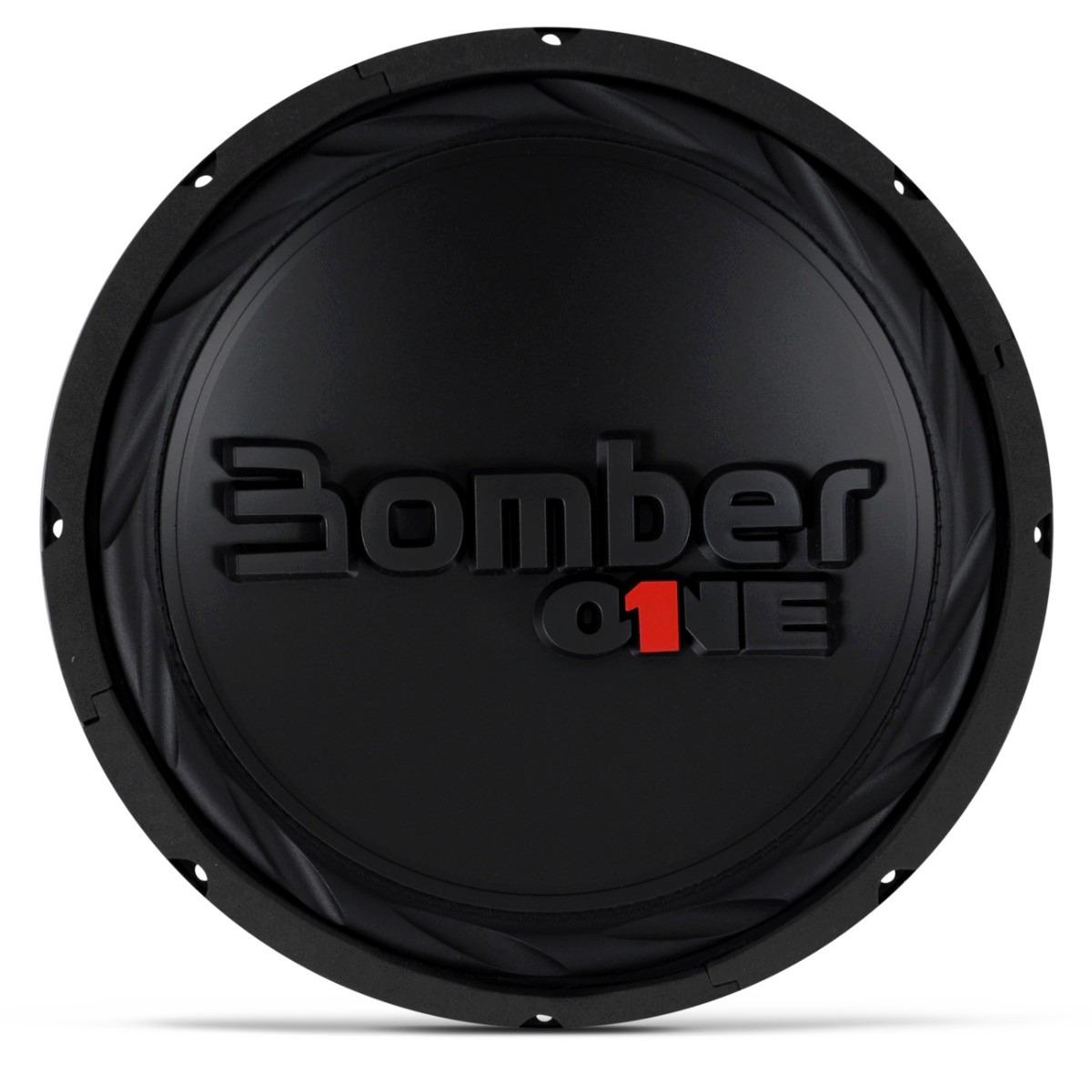 Subwoofer Bomber 12 One 200w Rms 4 Ohms Bobina Dupla Falante