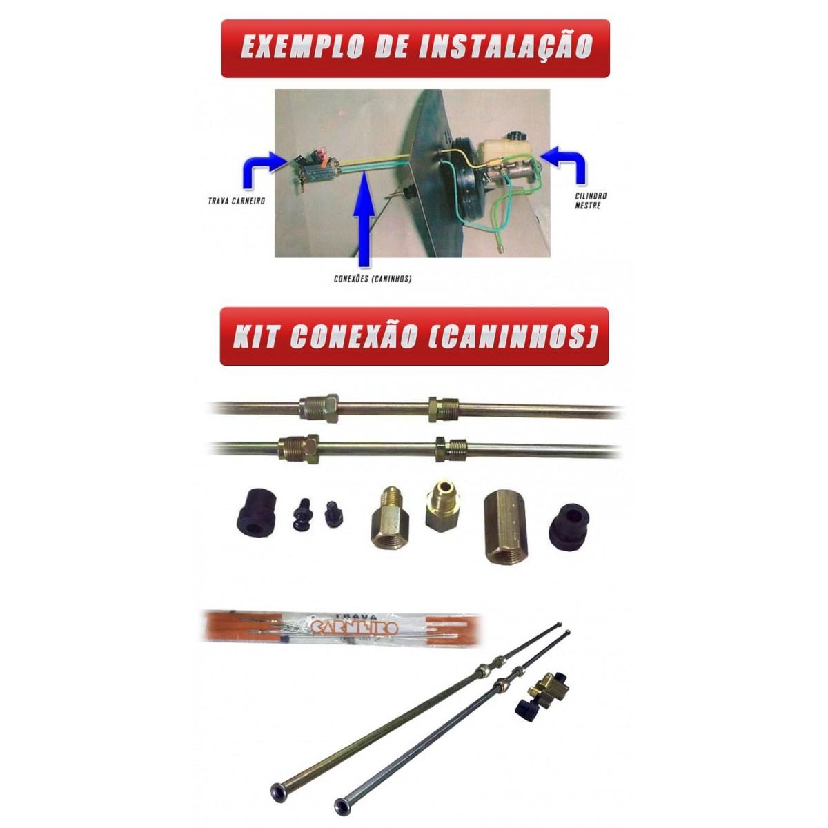 Kit Trava Carneiro Para Instalação  Conexões e Tubos  Pacri - Keso