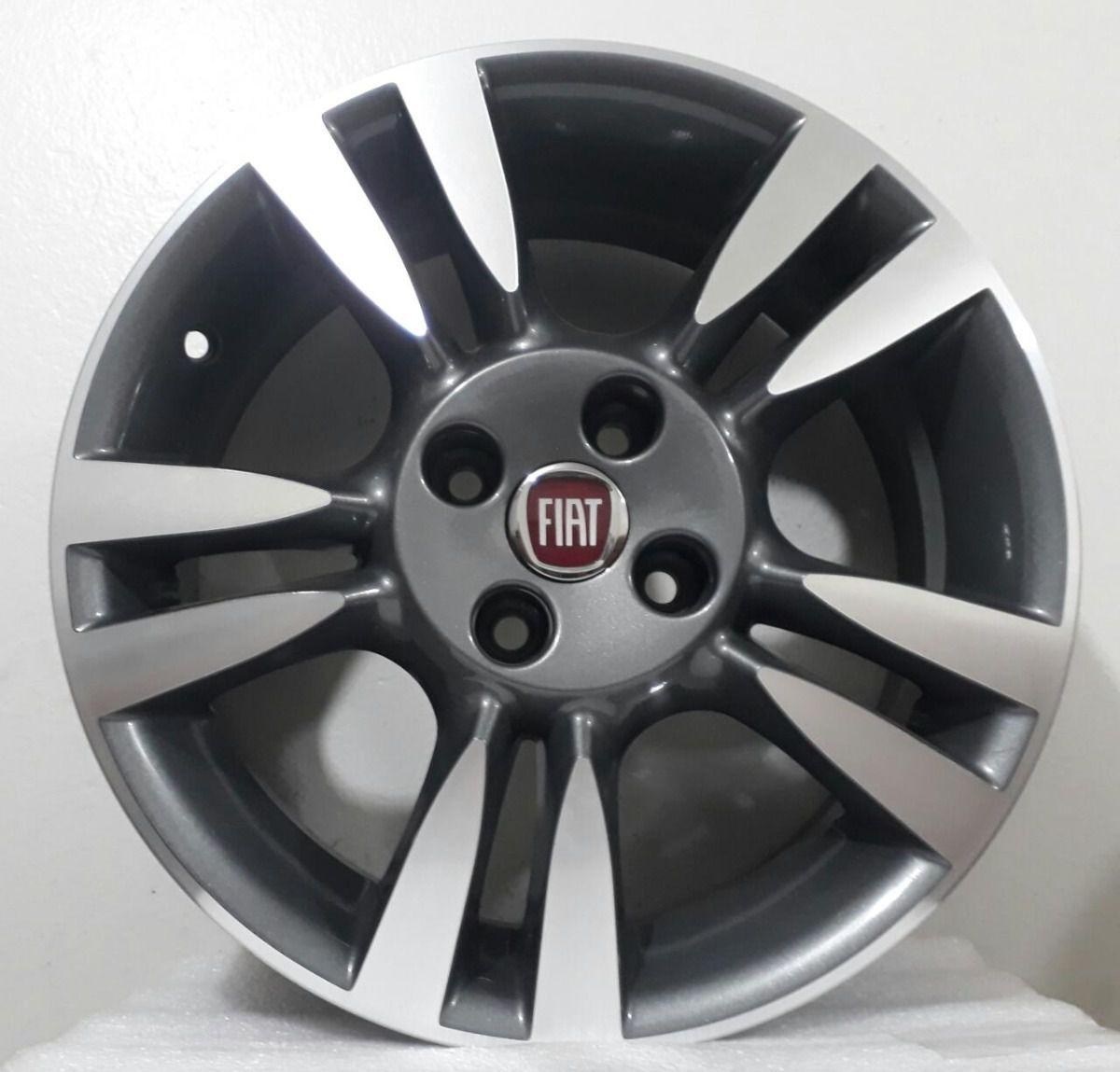 Rodas Fiat Punto T-jet KR R61 aro 15 4X98 Jogo